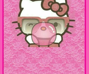 bubblegum, hello kitty, and HK image