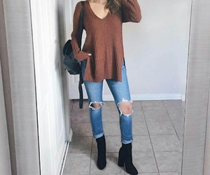 boho, casual, and choker image