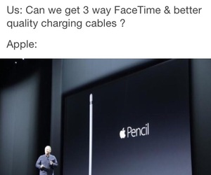 apple and funny image