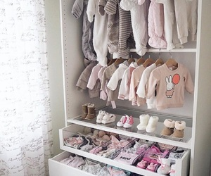 baby, clothes, and closet image