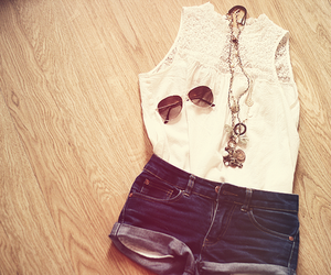 accesories, jeans, and shorts image