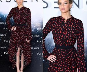 actress, fashion, and passengers image
