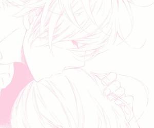 manga, couple, and boy image
