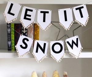 christmas, picture, and let it snow image