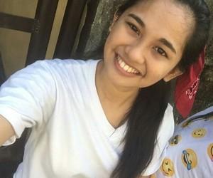 white shaina smile love image
