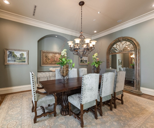 decor, design, and dining room image