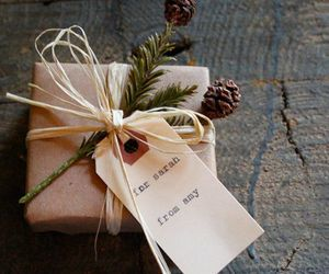 gift, present, and diy image