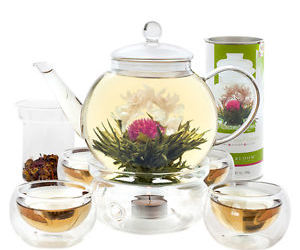 ebay, teapots, and blooming tea image