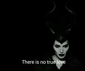 love, maleficent, and quote image