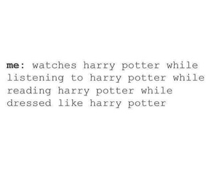 harrypotter, potterhead, and potterheadsthing image