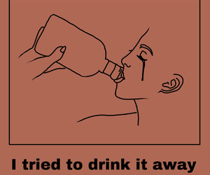 quotes and drink image