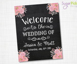 chalkboard, wedding printable, and rusticwedding image