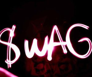 swag, light, and pink image