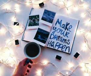 Dream and coffee image