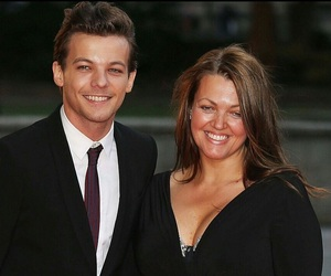 louis tomlinson, one direction, and johannah deakin image
