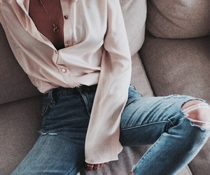 blouse, fashion, and indie image