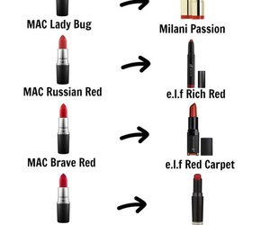 dupe and lipstick image