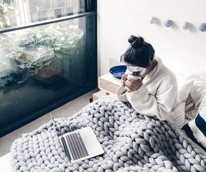 cozy, girl, and winter image