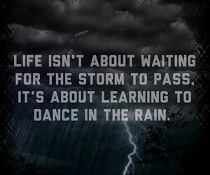 rain, storm, and life image