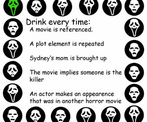 funny, scream, and drinking games image