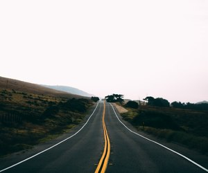 dark, dreamy, and road image