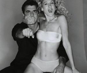 Carrie Bradshaw, photoshoot, and couple image