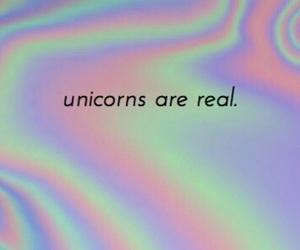 holographic, unicorn, and unicorns image