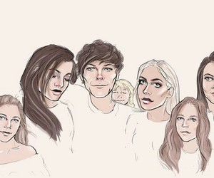 louis tomlinson, one direction, and lottie tomlinson image