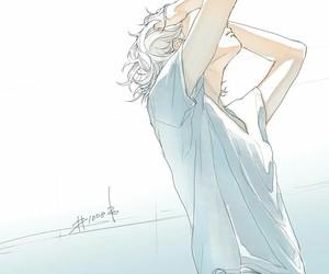art and anime boy image