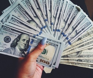 money, luxury, and nails image