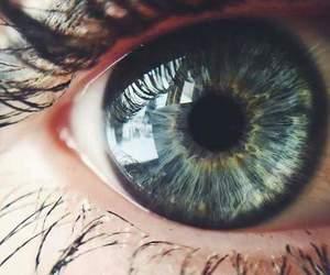 eye, beautiful, and eyes image