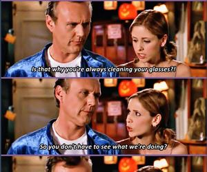 buffy, Giles, and all the way image