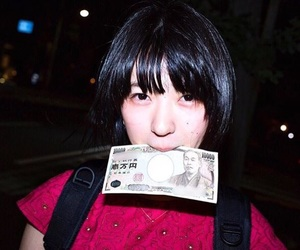 japan, model, and money image