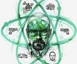 breaking bad, gun, and bryan cranston image
