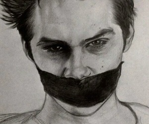 teen wolf, drawing, and stiles image