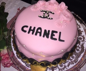 bday, cake, and chanel image