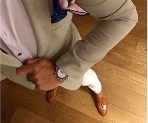 fashion, man, and style image