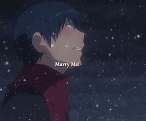 anime, toradora, and ryuuji image