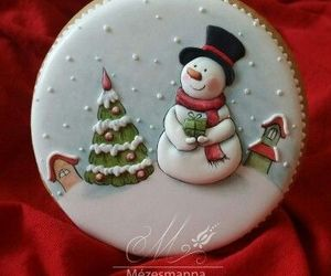 christmas, ornaments, and Cookies image
