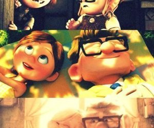 casal, carl and ellie, and ♥ image