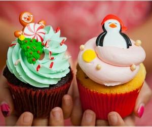 cupcake, christmas, and sweet image