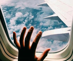 travel, sky, and tumblr image