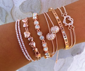 bracelet, accessories, and beauty image