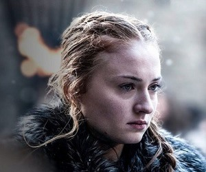 lady, got, and winter is here image