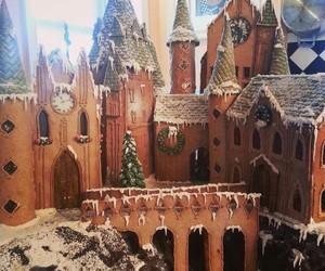 hogwarts, harry potter, and food image