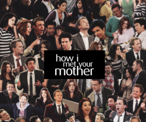 Collage, himym, and how i met your mother image
