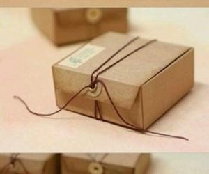 box, diy, and gift image