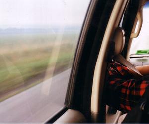 car, drive, and landscape image