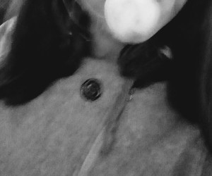 fum, alb negru, and tigara image