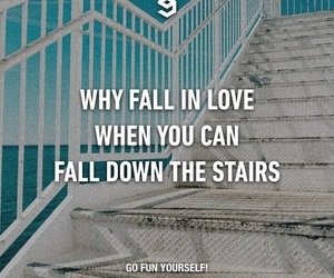 stairs and love image